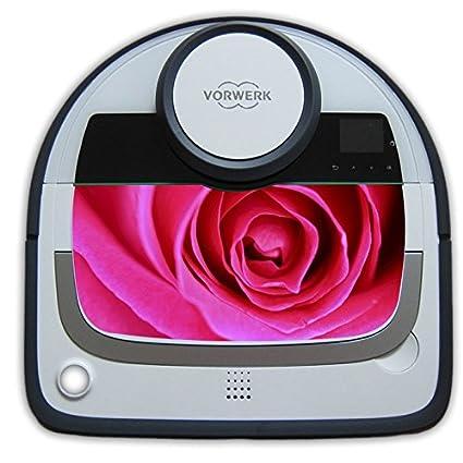Vorwerk VR200 robot aspirador etiquetas de rosas