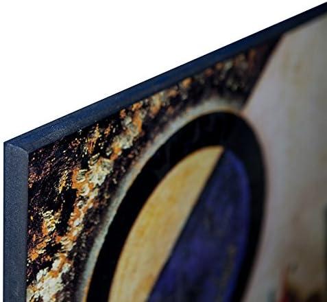 Broadway Boogie Woogie Decorative Panel ArtPlaza TW92393 Piet Mondrian 43.5x43.5 Inch Multicolored