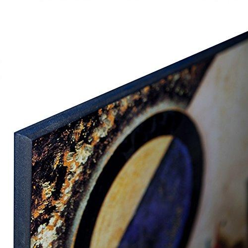 ArtPlaza da Da Vinci Leonardo The Baptism of Christ Dekorative Paneele Holz 60 x 1.8 x 80 cm Mehrfarbig