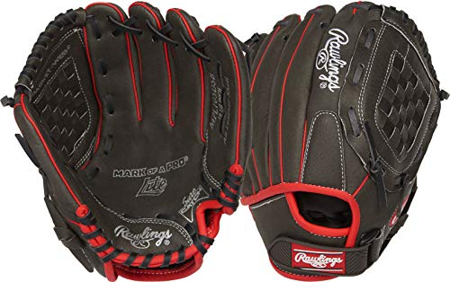 - Rawlings Mark of a Pro Light Youth Baseball Glove, Right Hand, Basket-Web, 10-1/2 Inch