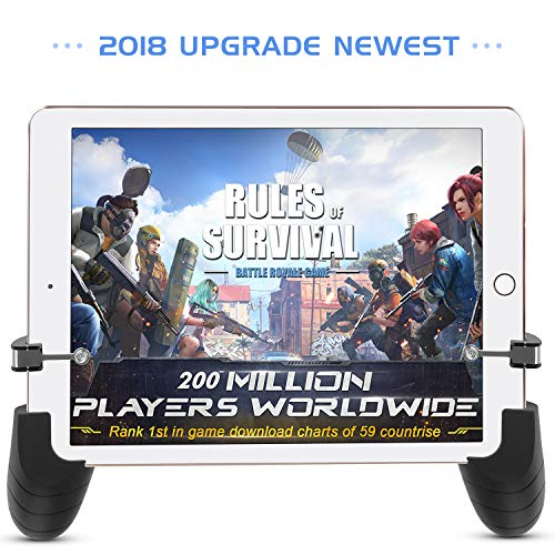 (AnoKe Compatible with Mobile Controller - Tablet Game Trigger/Mobile Game Controller PUBG Android Tablet iOS (2 Controller))