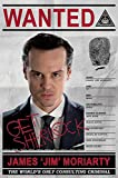 Sherlock Moriarty Wanted Maxi Poster, Wood, Multi-Colour