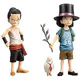ワンピースDXフィギュア~THE GRANDLINE CHILDREN~vol.3 ロブ・ルッチ ジャブラ 全2種セット