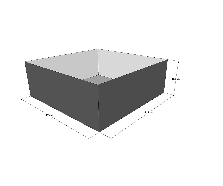 Bodenschutzmatte f/ür Waschmaschinen und Fitnessger/äte Gummigranulat Meterware Fallschutz f/ür Au/ßenbereiche 1,20m x 11,00m Bautenschutzmatte Antiruschtmatte Gummimatte