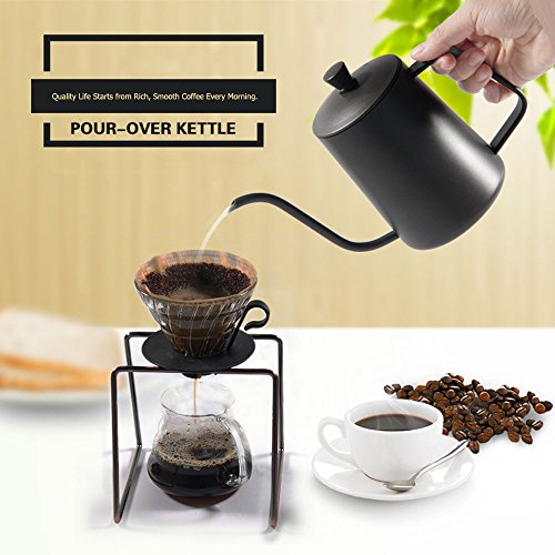Pour Over Drip Coffee Pot Teakettles 22OZ-BEMINH Premium Sta