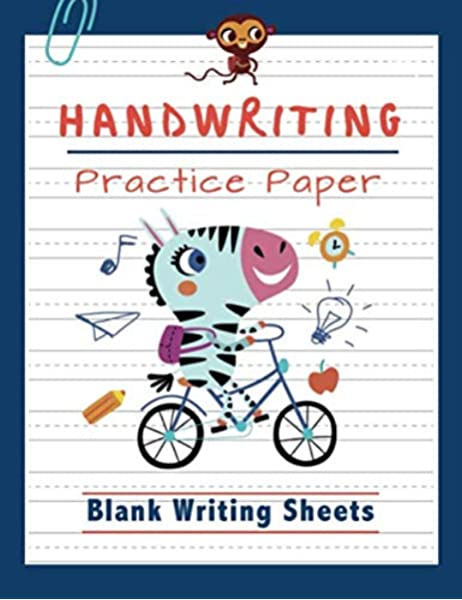 Handwriting Practice Paper: Blank Writing Sheets Notebook For Preschool And  Kindergarten Kids Handwriting Printing Workbook (Ages 2-4, 3-5) (Tracing  Practice Book For Preschoolers): Press, Happy Kid: 9781729405147:  Amazon.com: Books