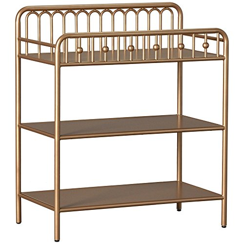Hill Ivy Metal Changing Table, Gold (Shark Casting Kit)
