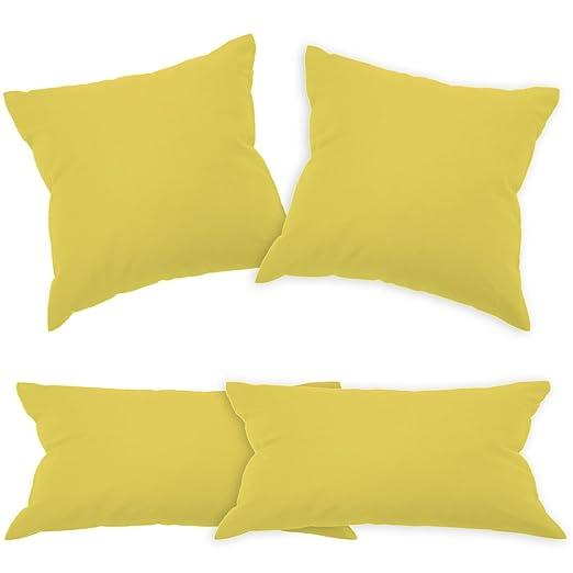 Desconocido qool24 bwlr algodón almohada con cremallera en 2 ...