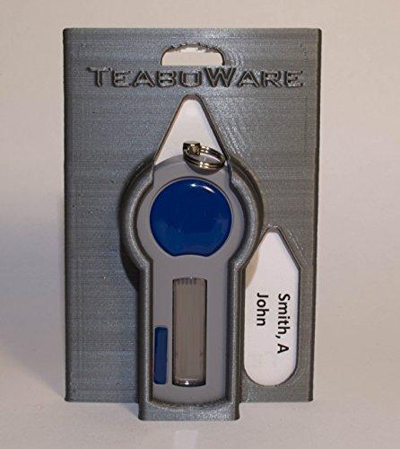 RSA Token Badge Holder (Grey Silver)