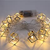 Snowfoller 10 LED Cute Fairy String Light Lamp for Halloween Christmas Wedding Party Decor Indoor Outdoor Cafe Shop Home Decoration (C)