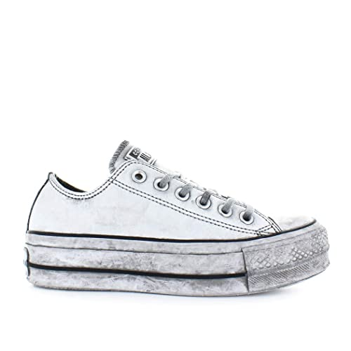 Converse Women s Shoes All Star Platform White Smoke in Sneaker Fall Winter  2019 c888e8368