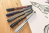 Zebra Pen Zensations Brush Pen, Brush Tip, Black