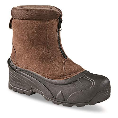 Itasca Men's Brunswick Waterproof Winter Boots Snow, Brown, 10 D US ()