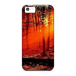 New Zcl17854OqaY Morning Forest Covers Cases For Iphone 5c