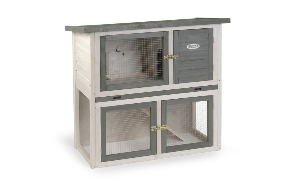 104 x 52 x 92 cm Beeztees Residence Collection Rabbit Cage Snibble Duo color Plus, 104 x 52 x 92 cm
