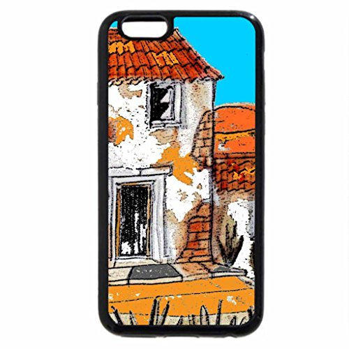 iPhone 6S / iPhone 6 Case (Black) Old french house'