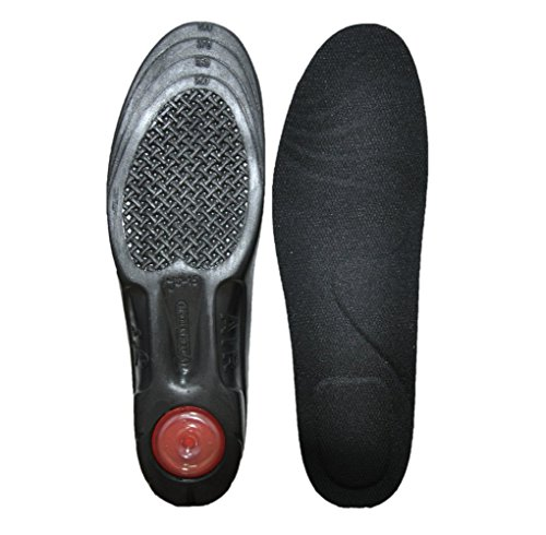 Cell Insoles Air 3 (Plain Walker Orthotic Height Increase Air Cell Cushion Shock Absorber Insoles (US 3~6.5))