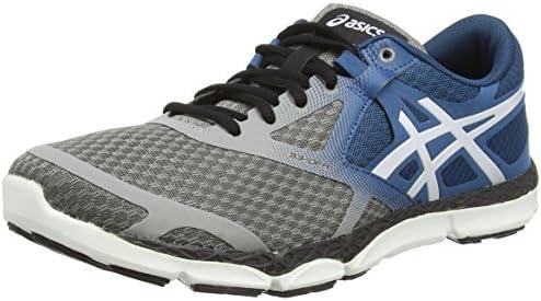 ASICS 33-DFA - Zapatillas de Running para Hombre, Color Gris (Taupe/Cloud White/Mosaic Blue 1298), Talla 45: Amazon.es: Zapatos y complementos