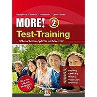 MORE! 2 Test-Training, mit App für Audios und Access Code für Online-Training (Helbling Languages)