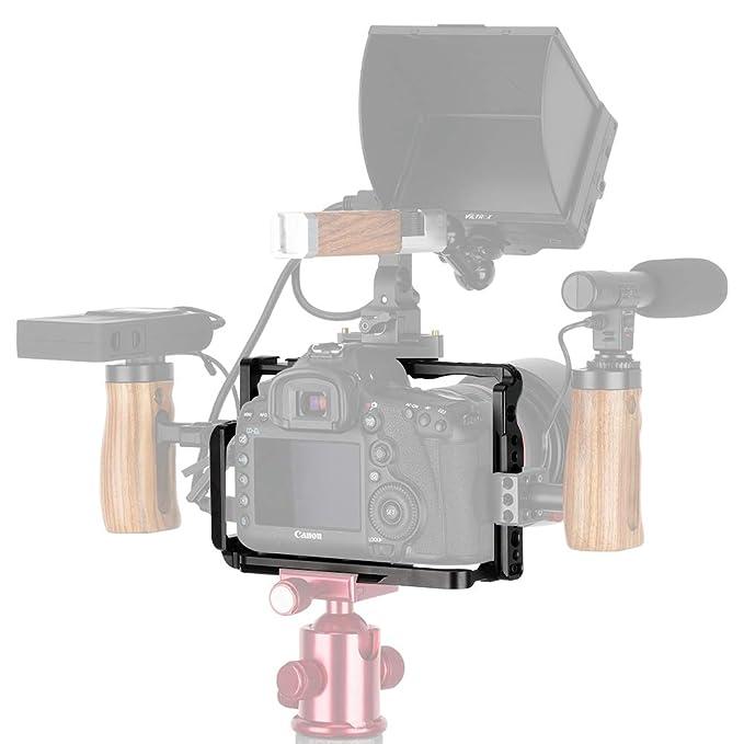 NICEYRIG 5D Mark IV III II Jaula para Canon 5D Mark IV III II con ...