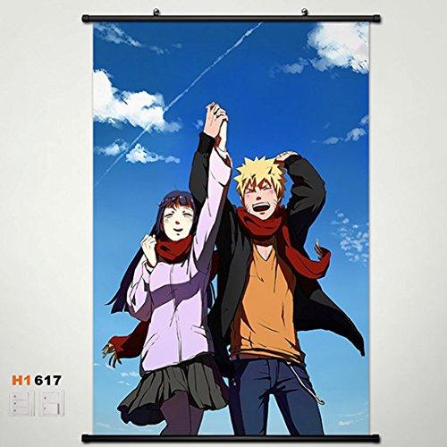 Home Decor Anime Naruto Hinata Hyuga Wall Scroll Poster Fabric Painting 23.6*35.4 617