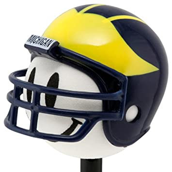 Michigan casco de fútbol americano antena Topper
