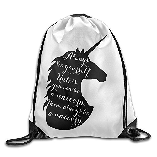 Cheap Logon 8 Always Be A Unicorn Comfortable Drawstring Bags One Size