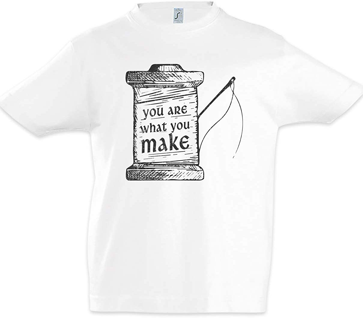 You are What You Make Kids Boys Children T-Shirt