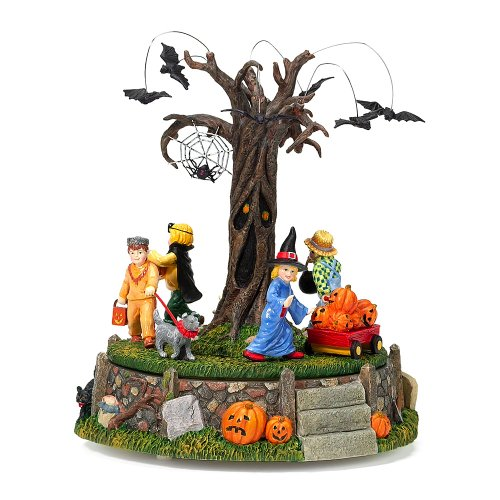 (Department 56 Halloween Village Costume Parade, Musical and Animated Accessory)
