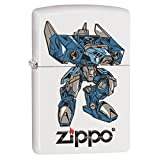 Blue Robot Custom Zippo Windproof Collectible Lighter. Made in USA Limited Edition & Rare