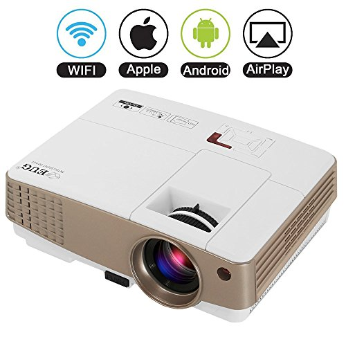Wireless Pico Projector HDMI WiFi- Portable Mini Home Cin...