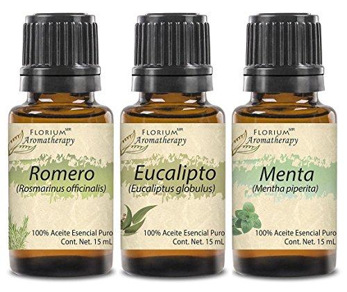 Antigripales y Expectorantes - Aceites Esenciales Puros 15 ml c/u - Grado Terapéutico - Auténtica Aromaterapia Florium