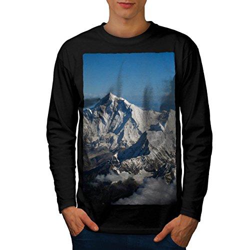 rocky-mountain-range-men-new-l-long-sleeve-t-shirt-wellcoda