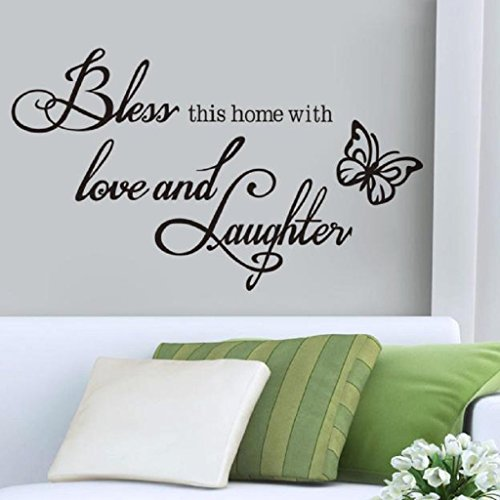 Wall Sticker,Laimeng, Removable Home Window Vinyl Art (Wall Art Decals)