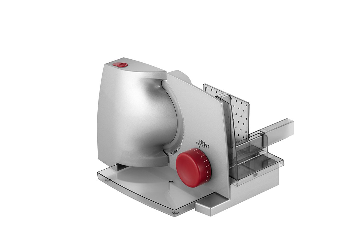 ritter Allesschneider compact 1, elektrischer Allesschneider mit ECO-Motor, made in Germany 518 000 Küche: Universalzerkleinerer