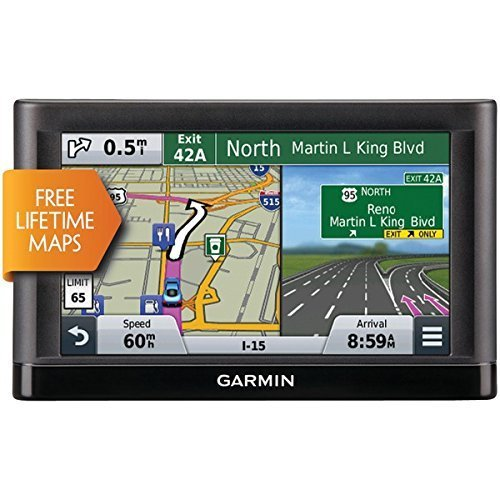 5.0 In. GPS Navigator with U.S. Coverage with Lifetime Maps (Certified Refurbished)