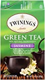 Twinings of London Jasmine Green Tea Bags, 20 Count (Pack of 6)