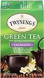 Twinings of London Jasmine Green Tea, 20 Count (Pack of 6)