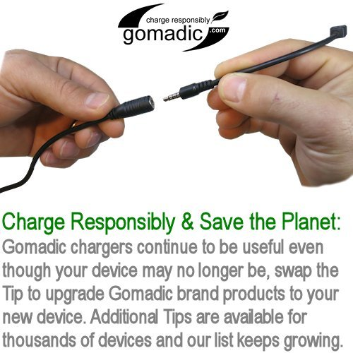 Hot Sync and Charge Straight USB cable Compatible with Coby MP727 Video MP3 Player Charge and Data Sync with the same cable Built with Gomadic TipExchange Technology