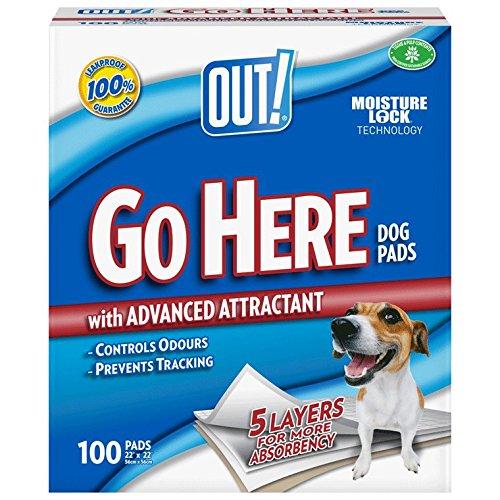 OUT! Lot de 100 serviettes d\'entraînement à la propreté pour chiot The Bramton Company 91605