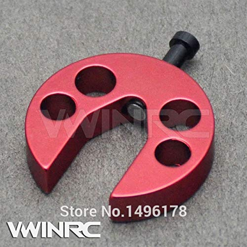 Accessories 450 Swashplate Leveler Tools for KS KSJ 1117 Align T-REX 450pro Sport DFC H45191 Rc Helicopte Heli Toys 8ch TS201 - (Color: Red)