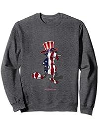 Ole' Glory Smok'n'beaver sweatshirt
