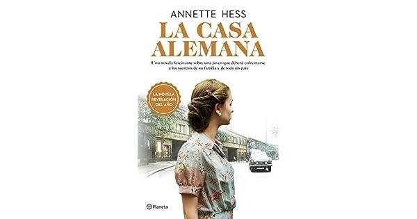 Amazon.com: La casa alemana (Spanish Edition) (9786070759772 ...