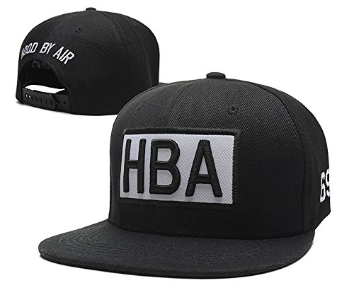 HBA Cool Linesman Snapback Cap Hat With Pom (Hba Bucket Hats)