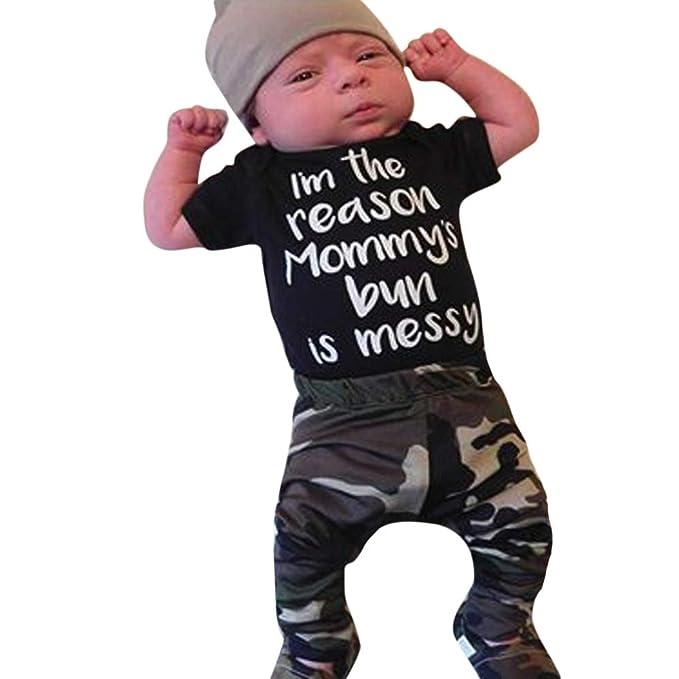 2564177269 Daoope Vestiti Bambino Maschio Estate Camouflage Abbigliamento Bambini  Abiti Cerimonia Vestito Battesimo Bambino 6 9 12