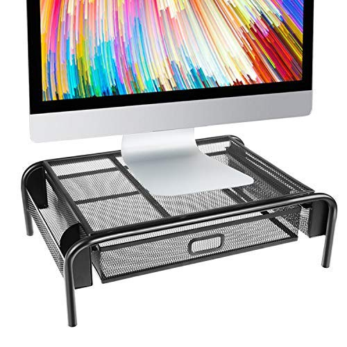 Top 9 Mesh Desktop Stand With Drawer