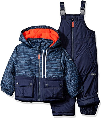 Large Product Image of OshKosh B'Gosh Osh Kosh Boys' Ski Jacket and Snowbib Snowsuit Set