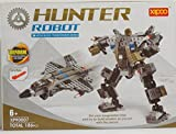 Compra Hunter Robot Building Blocks 186 Pcs Set Compatible with Lego Parts Grate Quality, Grate Gift for Boys and Girs, the Best Toy. en Usame