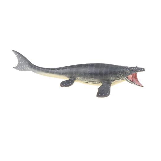 45CM figura realista Dinosaurio Mosasaurus Modelo Animal Niños Regalo Juguete-o Festival