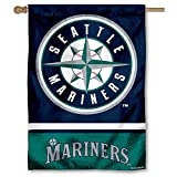 WinCraft Seattle Mariners Double Sided House Flag